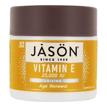 Jason Natural Products - Vitamin E Cream 25000 IU - 4 oz.