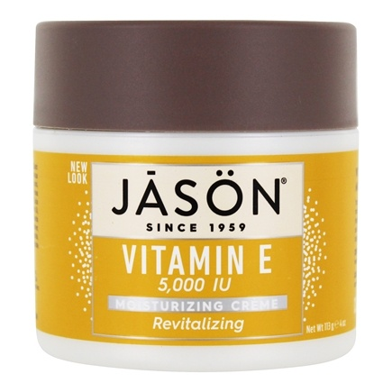 Jason Natural Products - Vitamin E Revitalizing/Moisturizing Creme 5000 IU - 4 oz.