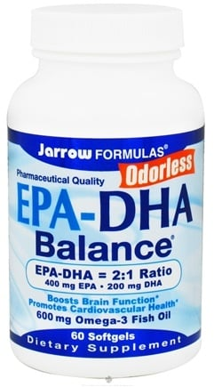DROPPED: Jarrow Formulas - EPA-DHA Balance - 60 Softgels CLEARANCE PRICED