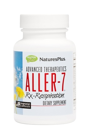 Nature's Plus - Aller-7 Rx-Respiration - 60 Vegetarian Capsules