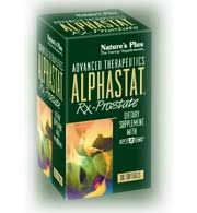 DROPPED: Nature's Plus - Alphastat Rx-Prostate - 30 Softgels