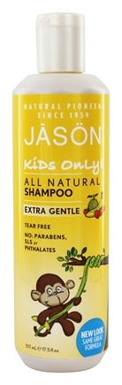 Jason Natural Products - Kids Only Extra Gentle Shampoo - 17.5 oz.