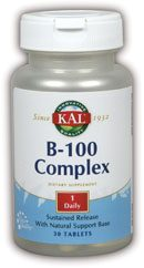 DROPPED: Kal - B-100 Complex S.R. - 30 Tablets