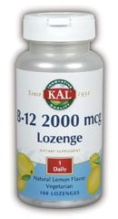 DROPPED: Kal - B-12 2000 mcg. - 100 Lozenges