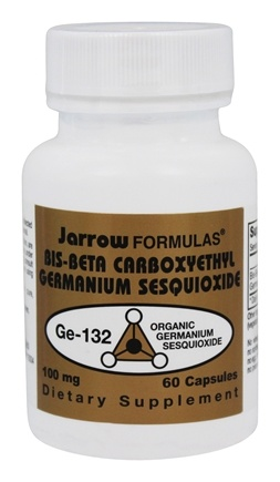 Jarrow Formulas - Germanium Ge-132 100 mg. - 60 Capsules