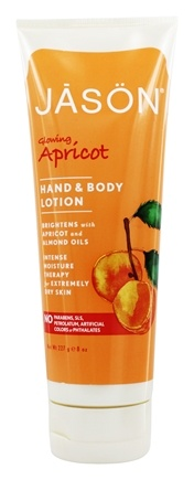 DROPPED: JASON Natural Products - Hand & Body Lotion Apricot - 8 oz.