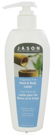 DROPPED: Jason Natural Products - Hand & Body Lotion Fragrance Free - 8 oz. CLEARANCE PRICED