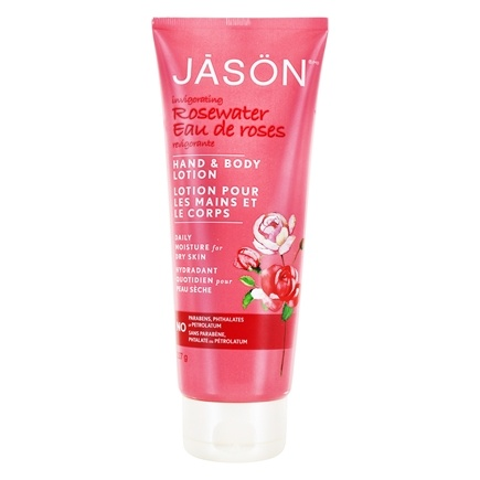Jason Natural Products - Hand & Body Lotion Rosewater - 8 oz.