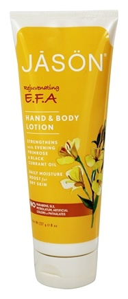 Jason Natural Products - Hand & Body Lotion Natural EFA - 8 oz.