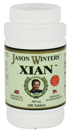DROPPED: Jason Winters - Xian - 100 Tablets CLEARANCE PRICED