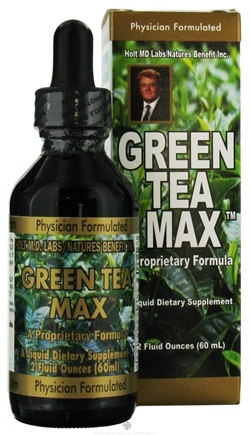 DROPPED: Nature's Benefit - Green Tea Max - 2 oz.