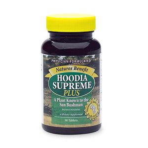 DROPPED: Nature's Benefit - Hoodia Supreme Plus Guaranteed South African Hoodia gordonii - 30 Tablets