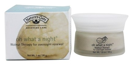 Nature's Gate - Hydrator Walnut Therapy Oh What A Night - 1 oz.