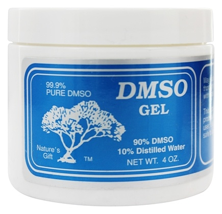 Nature's Gift DMSO - 90%/10% Distilled Water Gel - 4 oz.