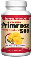 DROPPED: Jarrow Formulas - Primrose 500 + Gamma Tocopherol - 100 Softgels