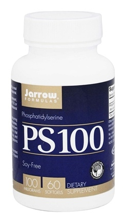 Jarrow Formulas - PS-100 Phosphatidylserine 100 mg. - 60 Softgels