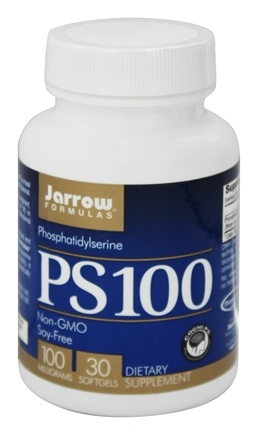 Jarrow Formulas - PS-100 Phosphatidylserine 100 mg. - 30 Softgels