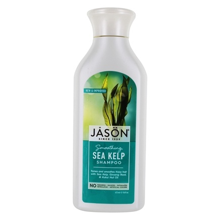 Jason Natural Products - Natural Sea Kelp Shampoo Hair Moisturizing - 16 oz.