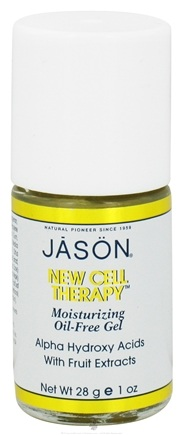 DROPPED: Jason Natural Products - New Cell Therapy 12 1/2 Plus - Moisturizing Oil-Free Gel with A.H.A. - 1 oz. CLEARANCE PRICED