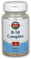 DROPPED: Kal - B-50 Complex - 50 Tablets