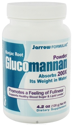 DROPPED: Jarrow Formulas - Glucomannan Powder - 4.2 oz.