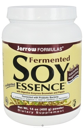 DROPPED: Jarrow Formulas - Fermented (Predigested) Soy Essence Probiotically Digested Soy Powder - 14 oz.