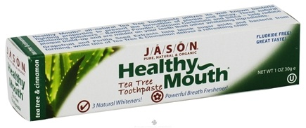 DROPPED: Jason Natural Products - Toothpaste Healthy Mouth Travel Size Tea Tree - 1 oz.