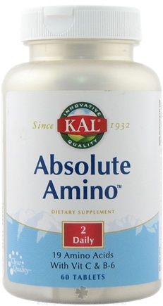 DROPPED: Kal - Absolute Amino - 60 Tablets