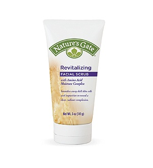 DROPPED: Nature's Gate - Revitalizing Facial Scrub with Amino Acid Moisture Complex - 5 oz.