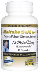 DROPPED: Natural Factors - Maitake Gold 404 High Potency 15 mg. - 30 Capsules