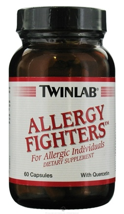 DROPPED: Twinlab - Allergy Fighters with Quercetin - 60 Capsules