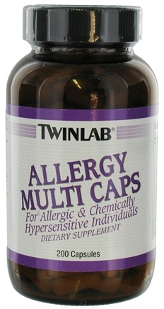 DROPPED: Twinlab - Allergy Multi Caps - 200 Capsules