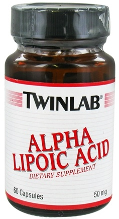 DROPPED: Twinlab - Alpha Lipoic Acid 50 mg. - 60 Capsules CLEARANCE PRICED
