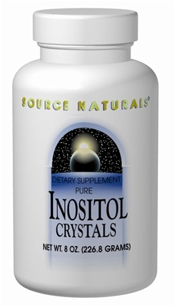 DROPPED: Source Naturals - Inositol Crystals - 4 oz.