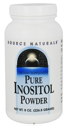 DROPPED: Source Naturals - Pure Inositol Powder 845 mg. - 8 oz. CLEARANCE PRICED