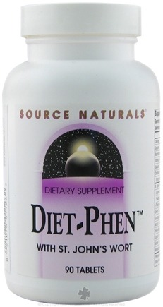 DROPPED: Source Naturals - Diet-Phen - With St. John's Wort - 90 Tablets