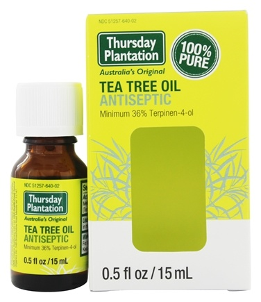 Thursday Plantation - Tea Tree Oil Antiseptic 100% Pure - 0.5 oz.