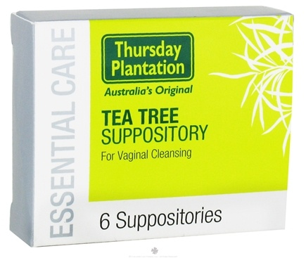 DROPPED: Thursday Plantation - Tea Tree Oil Suppositories - 6 Suppositories