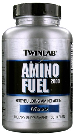 DROPPED: Twinlab - Amino Fuel 2000 - 50 Tablets