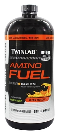 Twinlab - Amino Fuel Liquid Concentrate Orange Rush - 32 oz. LUCKY PRICE