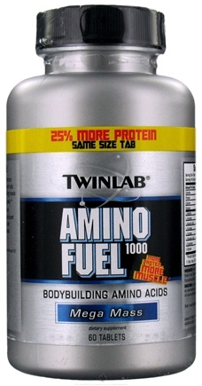 DROPPED: Twinlab - Amino Fuel 1000 - 60 Tablets CLEARANCE PRICED