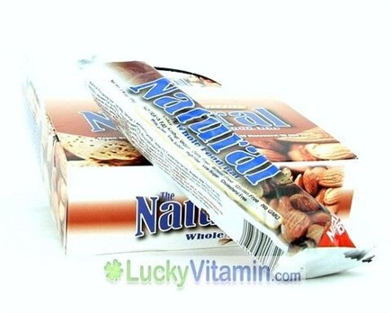 DROPPED: Natural Bar - The Natural Whole Food Bar Crunchy Almond