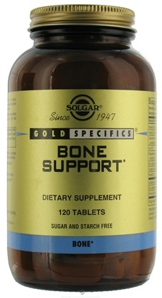 DROPPED: Solgar - Gold Specifics Bone Support - 120 Tablets