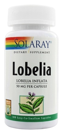 Solaray - Lobelia 50 mg. - 100 Capsules