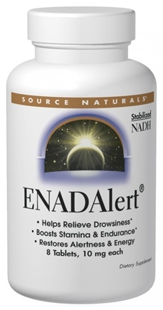 DROPPED: Source Naturals - ENADAlert 5 mg. - 30 Tablets