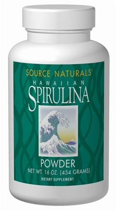 DROPPED: Source Naturals - Spirulina Powder - 8 oz.