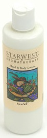 DROPPED: Starwest Botanicals - Natural Aromatherapy Hand and Body Newself Lotion Clearance Priced - 8 oz.