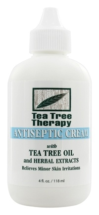 Tea Tree Therapy - Antiseptic Cream - 4 oz.