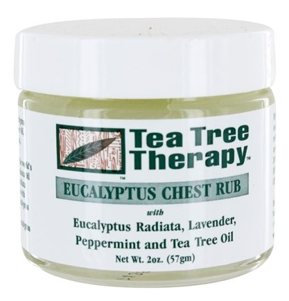 Tea Tree Therapy - Eucalyptus Chest Rub - 2 oz.
