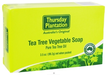 DROPPED: Thursday Plantation - Tea Tree Vegetable Soap with Pure Tea Tree Essential Oil - 3.5 oz.